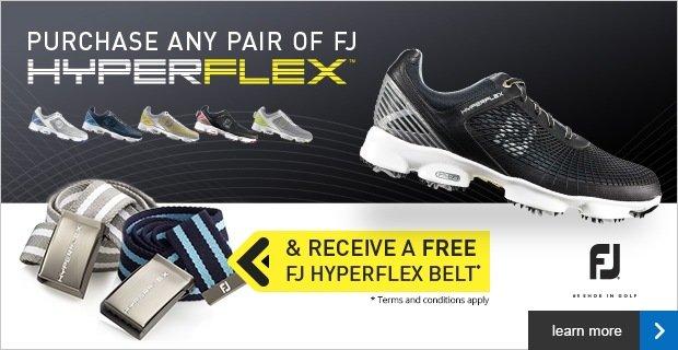 FootJoy HyperFlex free belt offer