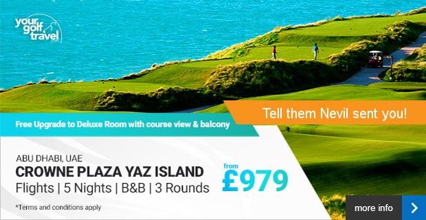 Crowne Plaza Yaz Island, Abu Dhabi from £979